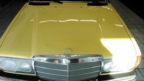 Mercedes Oldtimer Poliert
