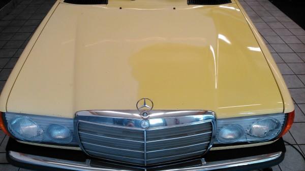 Mercedes Oldtimer vorher