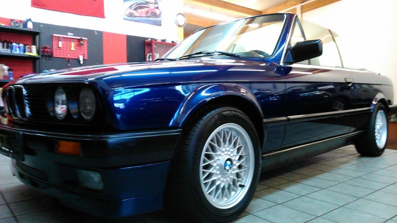 BMW 3er Cabrio poliert