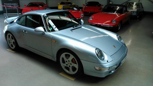 Porsche Silber Poliert