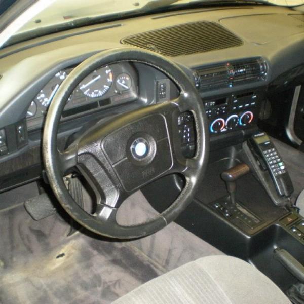 BMW Innenraum gereinigt