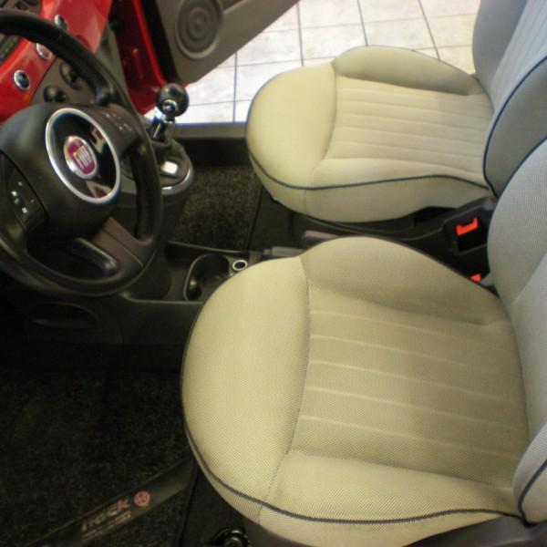 Fiat Sitze gereinigt